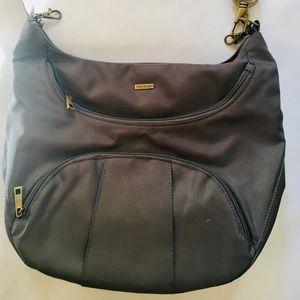 Travelon Large Nylon Shoulder/Crossbody Bag